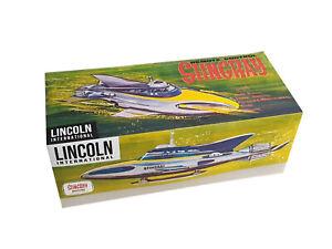 Lincoln International Remote Control Stingray Submarine Reproduction Box