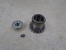 Yamaha 125 YZ YZ125-T Used Engine Crank Clutch Gear 1987 YB143