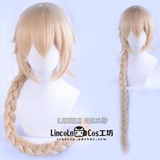 Halloween Perücke Cosplay FGO Fate/Grand Order Jeanne blonde Lange Haar 100cm
