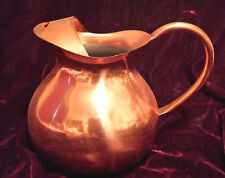 Tagus Copper Ball Style Pitcher with Ice Lip