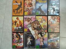 Auswahl //  Musikfilme, Tanzfilme, Musicals  (mehr als auf dem Bild)