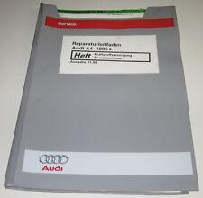Werkstatthandbuch Audi A4 Typ B5 Benzin Motor Kraftstoffversorgung Benzinmotoren