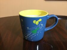 Disney Store Tinker Bell Contrast 12 oz Coffee Tea Mug New