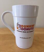 "Dunkin Donuts Ceramic Coffee Mug Cup  16oz   ""America Runs on Dunkin"""
