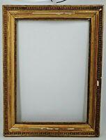 Ancien cadre doré époque XIX ème s, belle dorure d'origine, Napoléon III