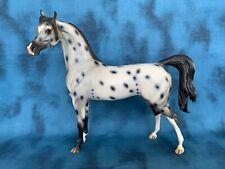 Price Reduced! Peter Stone Arabian Ooak Calabooze! Gorgeous Leopard Appaloosa!