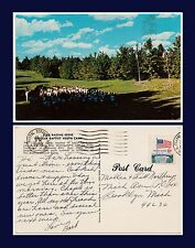US MICHIGAN LAKE ANN NEAR TRAVERSE CITY BAPTIST CAMP 17 JULY 1974 TO BROOKLYN MI