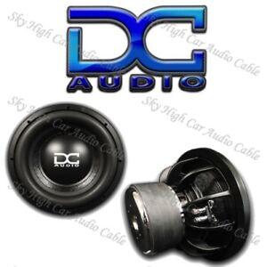 """DC AUDIO Level 3 18"""" 2 ohm Dual Voice Coil Subwoofer 900/1800 Watt NEW"""