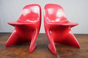 Casalino Child's School Chair Children's Retro 70s Vintage Desk 70er 1/2