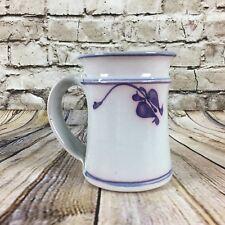 "Elizabeth Saslaw York Hill Pottery Handmade 4.75"" Tall Coffee Tea Mug"