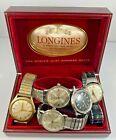 Wristwatch Lot Longines Bulova Elgin Hamilton Parts Repair Only
