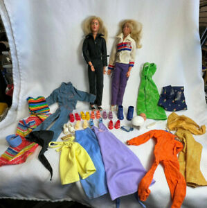 Vtg 1976 General Mills By Kenner The Bionic Woman Dolls, Clothes And Accesories