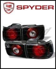 Spyder Honda Accord 92-93 4Dr Euro Style Tail Lights Black