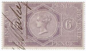(I.B) QV Revenue : Inland Revenue 6d Reddish Lilac (SG F14)