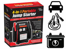 4 IN 1PORTABLE 12V CAR JUMP STARTER AIR COMPRESSOR BATTERY START BOOSTER CHARGER