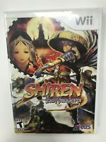 Shiren The Wanderer Nintendo Wii Disc and Case, No Manual Tested Atlus