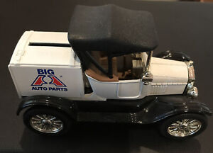 Limited Edition Big A Auto Parts Ertle 1918 Runabout Die-Cast Metal bank w Box