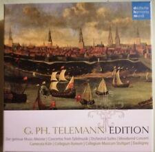 G. PH. TELEMANN EDITION - 10 CD Box