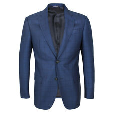 Emporio Armani - G Line Blue Check Blazer - 48/UK38 - *NEW WITH TAGS* RRP £575
