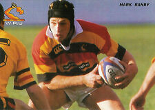 Mark Ranby, Waikato, New Zealand RUGBY PLAYER POSTCARD
