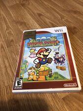 Super Paper Mario Nintendo Wii Game CT1