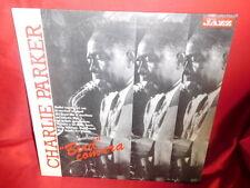 CHARLIE PARKER LP ITALY 1988 MINT- Rare Live Recordings Magazine Promo