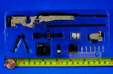 US Special Force Navy Seals MK13 MOD 5 Sniper Rifle 1:6 Figure Model G_8034A