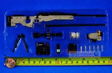 US Special Force Navy Seals MK13 MOD 5 Sniper Rifle 1:6 Figure Model G_8034A