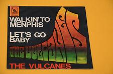 "7"" 45 (NO LP )SOLO COPERTINA THE VULCANES WALKIN'TO MEMPHIS ORIG ITALY '60"