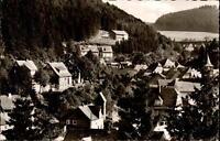Willingen Waldeck Hessen AK ~1957 Partie mit Wohnhäuser am Berghang ungelaufen