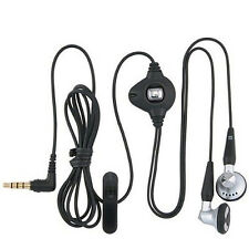 OEM BlackBerry 3.5mm Stereo Earphone Headset for Torch 9800 BOLD2 9900 9930