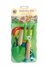 Little Pals Kids Garden Tool Activity Kit, Green