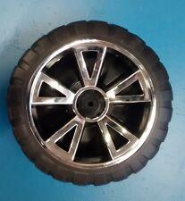 New 24 volt Peg Perego Gaucho Jeep Rear Wheel - Rubber Style Wheel