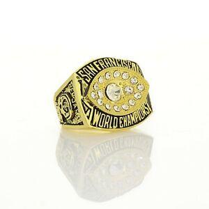 1981 San Francisco 49ers Championship rings NFL