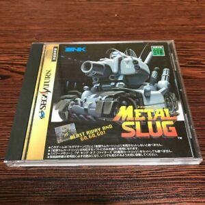 Metal Slug Sega Saturn SS Action Shooter Import From Japan