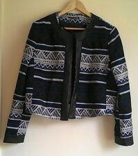 Atmosphere Aztec print short jacket