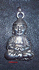 Pendentif Statue Statuette Bouddha Argent - Shiny Tibet Silver Buddha Pendent