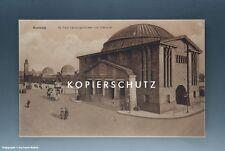 Ansichtskarte Hamburg St. Pauli Landungsbrücken und Elbtunnel vermutlich um 1925