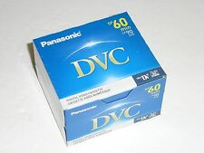 NEW SEALED BOX OF 5 PANASONIC DVC 90 minute (LP) video tape AY-DVM60EJ 60 min SP