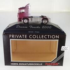 Herpa 1/87 PC DREAM Trucks 2000 MAN f90 trattore OVP #5585