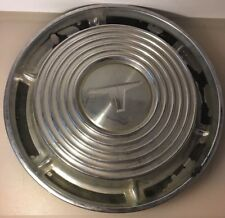 """T Hub Cap Wheel Covers VINTAGE 14"""" Silver/Tin Color"""