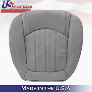 2008 2009 2010 2011 Buick Enclave Driver Bottom Perforated Leather Cover Gray