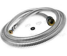 Home Kitchen Pull Out Flexible Spray Hose Basin Bath Tap Hose Replacement