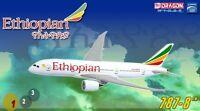 DRAGON WINGS 55933 ETHIOPIAN AIRLINES B787-800 1/400 DIECAST MODEL PLANE NEW