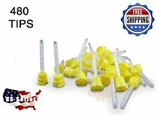 480 HP YELLOW Mixing Tips 4.2 mm Impression - Genuine Mixpac - All VPS / PVS