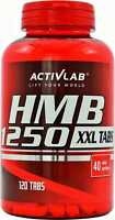 ActivLab HMB XXL 1250mg - 120 Mega Tabs - Anticatabolic Lean Muscles - Free P&P