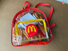 New ListingMcDonald's Pretend Play Food Lot with Clear Backpack
