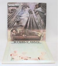 2 X STEELY DAN Vinyl LPs Inc: 'Countdown to Ecstasy' & 'The Royal Scam' - F23