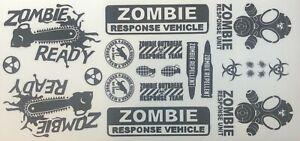 Zombie Sticker Decal 1/10 Scale Traxxas, Arrma, Losi, Redcat, Sticker, Decal #4