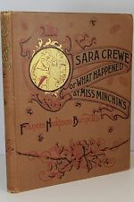Sara Crewe or What Happened at Miss Minchin's by Frances Hodgson Burnett, 1888